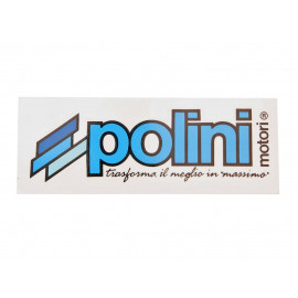 Sticker Polini Logo 120x40mm