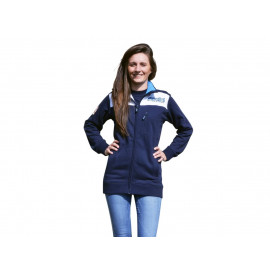 Fleece Zip Jacke Polini Race Team Maat S