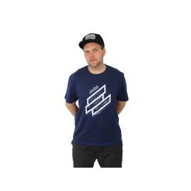 T-Shirt Polini blue Maat M