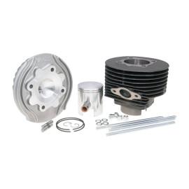 Cilinderkit Polini Gietijzer Racing 130cc 57mm voor Vespa 125 ETS, PK, Primavera 2T, Primavera ET3 2T, XL
