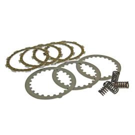 Koppelingsplaten Set Sport 4-Reibscheiben-Koppeling voor Minarelli AM, Generic, KSR-Moto, Keeway, Motobi, Ride, 1E40MA, 1E40MB