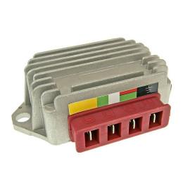 Spanningsregelaar / Gelijkrichter 4 Pins voor Vespa PK 50, PX 80, PK 125, P 200, PX 200, Cosa, XL2
