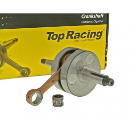 Krukas Top Racing Vollwange HQ High Quality voor Minarelli AM, Generic, KSR-Moto, Keeway, Motobi, Ride, CPI, 1E40MA, 1E40MB
