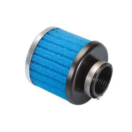Luchtfilter Polini Special Air Box Filter 36mm recht blauw