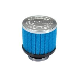 Luchtfilter Polini Special Air Box Filter 39mm recht blauw