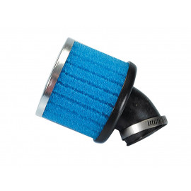 Luchtfilter Polini Special Air Box Filter 36mm 30° blauw