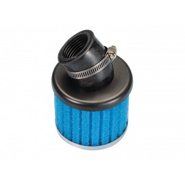 Luchtfilter Polini Special Air Box Filter 32mm 30° blauw