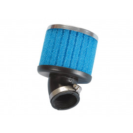 Luchtfilter Polini Special Air Box Filter 39mm 30° blauw