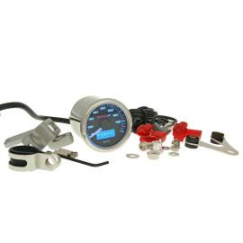 Snelheidsmeter Koso D48 GP Style max 160km/h