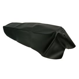 Zadelhoes zwart voor Aprilia SR50, Rally