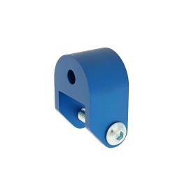 Schokbrekerverlenger 40mm blauw voor Piaggio