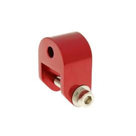 Schokbrekerverlenger 40mm rood voor Piaggio