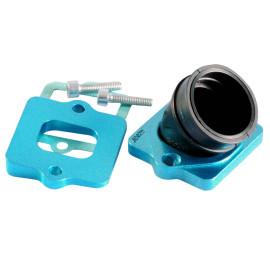 Spruitstuk Polini 360 30/35mm met Spacer voor Piaggio 50 2T met 24-30mm PWK, PHBH, VHST Carburateur