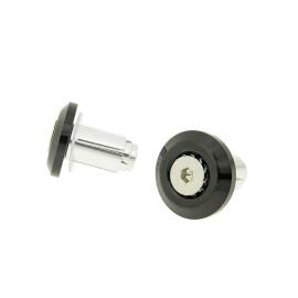 Lenkerende Trillingsdemper Mini CNC - zwart