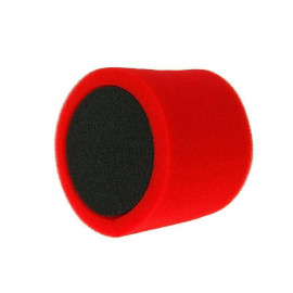 Luchtfilter Double Layer Racing kort 28-35mm rood