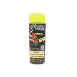 Strippable Lacquer Dupli-Color Sprayplast Yellow Fluo 400ml