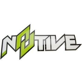 Sticker N8TIVE 500x230mm