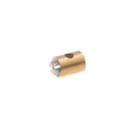 Schroefnippel voor Staalkabel - 5,5x7,5mm