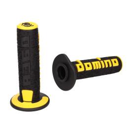 Handvaten set Domino A360 Off-Road zwart / geel
