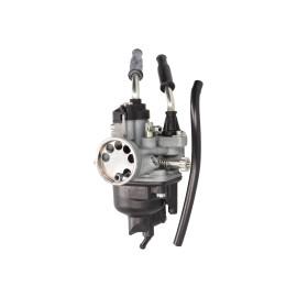 Carburateur Dellorto PHVA 17,5 Brommer met Kabelchoke voor Piaggio, Derbi D50B0