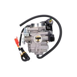 Carburateur voor 50cc Kymco, SYM, Peugeot, GY6 Euro4