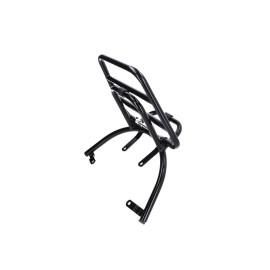 Kofferdrager / Bagagedrager opklapbaar zwart voor Piaggio Zip 00
