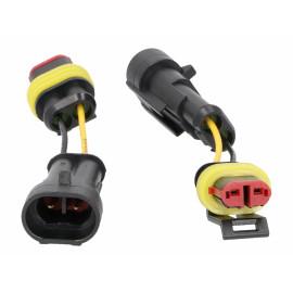 Adapterkabel Set Power1 voor Vespa Primavera, Sprint, Elettrica