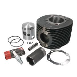 Cilinderkit EVOK 200cc 66,5mm voor Vespa P 200 X, PX 200, Cosa, Rally