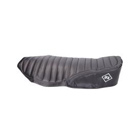 Zadelhoes strukturiert zwart voor Simson S51, S53, S70 Enduro Modelle