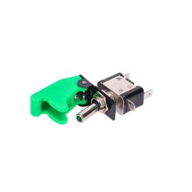 Schakelaar met Schutzklappe en LED - Groen
