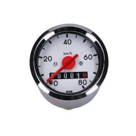 Snelheidsmeter / rondSnelheidsmeter 48mm voor Simson S50, S51, S70