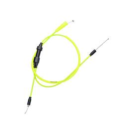 Gaskabel Compleet Doppler PTFE neongelb voor Sherco SE-R, SM-R 2006