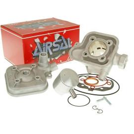Cilinderkit Airsal Sport 70cc 47,6mm voor Peugeot horizontaal LC