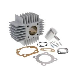 Cilinderkit Airsal Sport 48,8cc 38mm voor Puch Automaat, X30 met korten Kühlrippen