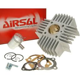 Cilinderkit Airsal T6-Racing 48,8cc 38mm voor Puch Automaat met langen Kühlrippen