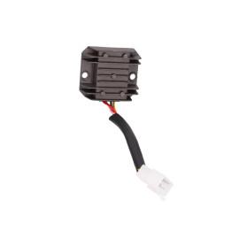 Spanningsregelaar / Gelijkrichter met Aansluitkabel 4-polig voor GY6 50-150cc