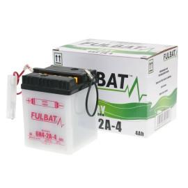 Scooter accu Fulbat 6V 6N4-2A-4 DRY incl. Zuurpakket