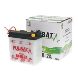 Scooter accu Fulbat 6V 6N4B-2A DRY incl. Zuurpakket