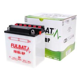 Scooter accu Fulbat FB10L-BP DRY incl. Zuurpakket