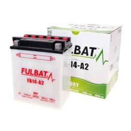 Scooter accu Fulbat FB14-A2 DRY incl. Zuurpakket