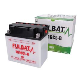 Scooter accu Fulbat FB16CL-B DRY incl. Zuurpakket