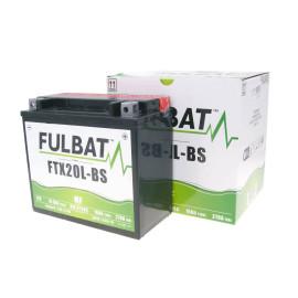 Scooter accu Fulbat FTX20L-BS MF onderhoudsvrij