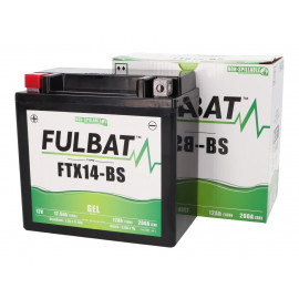 Scooter accu Fulbat FTX14-BS GEL