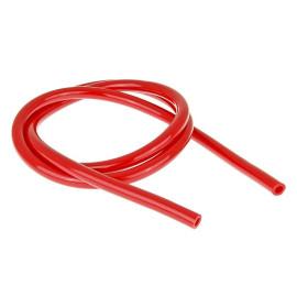Benzineslang rood 1m - 5x9mm