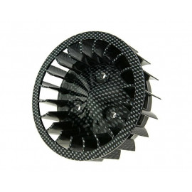 Koelvin Carbon-Look voor Minarelli horizontaal, Keeway, CPI, 1E40QMB