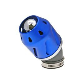 Luchtfilter Grenade blauw schuin 42mm Aansluiting