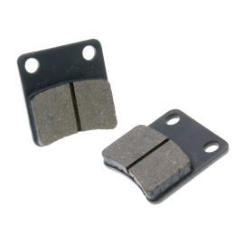 Remblokken organisch voor Piaggio MP3 250-500, Honda Dio, Daelim Message, Cordi, Five = NK430.12