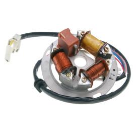 Ontsteking Stator Elektronik 6V (35/21W BILUX) voor Simson S51, S53, S70, S83, Schwalbe, SR