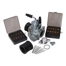 Tuning Carburateur Kit 19mm voor Simson S50, S51, S53, S70, S83, SR50, SR80