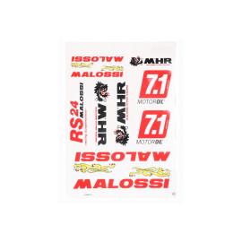 Stickerset  Malossi DIN-A3